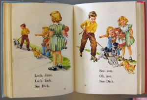 The famous Dick and Jane books